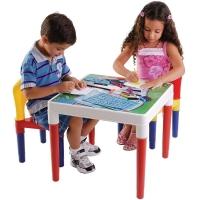 Mesa Infantil Bell Toy Escolar + Duas Cadeiras 9068