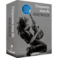 Box Cinquenta Tons de Pop Rock - 3 DVDs Rock