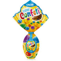 Ovo de Páscoa Confeti Lacta Nº 15 220g