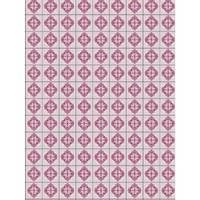 Toalha de Mesa Mainci Ladrilho Rosa 1.20x1.60cm