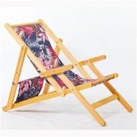 Cadeira Mão e Formão Opi com Braços Tecido 18663-2 Cru