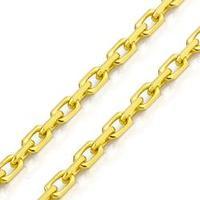 Corrente em Ouro Joiasgold 18K Cartier Redonda 1.75mm 60cm