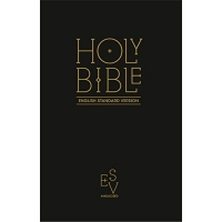 Holy Bible: English Standard Version (ESV) Anglicised Black Gift and Award edition