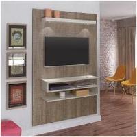 Painel TV 47 Artely Nexus Luzes LED 4 Prateleiras