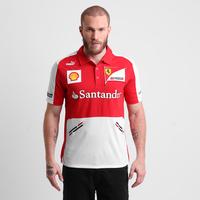 Camisa Polo Puma Scuderia Ferrari Team Masculina Vermelha  8755e294108
