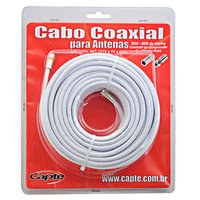 Kit Cabo Coaxial Capte 15Mts