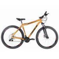 Bicicleta Adulto Aro 29 Tk 29 Alumínio Disk Brake 21 V - Laranja- Track Bikes