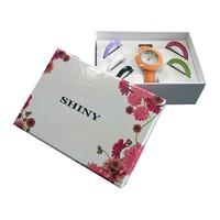 Kit Relógio Com 6 Pulseiras GS748 Shiny Toys