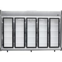 Expositor Refrigerado Vertical Fricon 5 Portas ACFM-2375 2,375 Litros 220V Preto