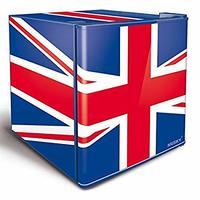 Frigobar Husky Reino Unido 42,9 Litros Vermelho e Azul 220V