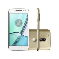 Smartphone Motorola Moto G4 Play DTV Colors XT1603 TV Dual Chip Android 6.0 Dourado