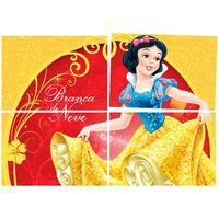 Painel Regina Festas Branca de Neve 1 Unidade 126x88cm