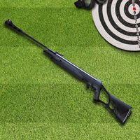 Carabina de Pressão CBC Calibre 5.5mm F22 Nitro X1000 Preta