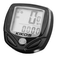 Ciclo Computador Kikos para Bikes CCB400 Preto