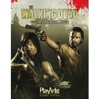 The Walking Dead 4ª Temporada 4 DVDs Blu-Ray - Multi-Região / Reg.4