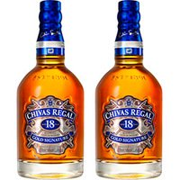 Kit com 2 Whiskies Chivas 18 Anos 700ml