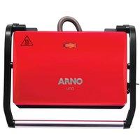 Grill Arno Compact Uno com Antiaderente Vermelho 220V