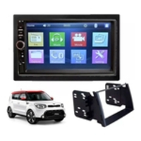 Central Multimidia Mp5 Kia Soul Usb/sd/bt + Moldura