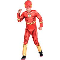 Fantasia Infantil The Flash Sulamericana  Premium DC