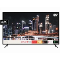 Smart TV LED 65 HQ HQSTV65NY Ultra HD 4K Netflix Youtube 3 HDMI 2 USB Wi-Fi