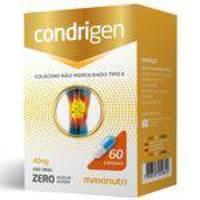 Condrigen Colágeno Não Hidrolisado Tipo II Maxinutri com 60 cápsulas