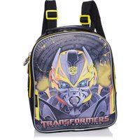 Lancheira de Costas Pacific Transformers Battle Bumblebee Amarela e Preta