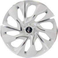 Calota Elitte DS4 White Chrome 4x100/108 Aro 14