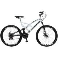 Bicicleta Colli Bike GPS Aro 26 21 Marchas Branca