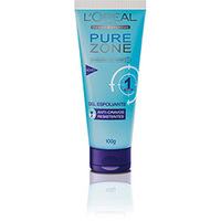 Gel Esfoliante L'Oréal Paris Anti Cravos Pure Zone 100g Dermo Expertise