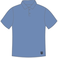 Camiseta Polo K-Swiss Honey Poliamida Masculina Azul