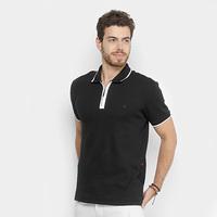 fa48acb551 Camisa Polo Forum Gola Zíper Masculina - Masculino