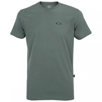 610db68185 Camiseta Oakley Tc Dry Ss Masculina Verde Claro e Cinza Claro