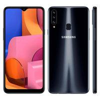Smartphone Samsung Galaxy A20s SM-A207M Desbloqueado 32GB Android 9.0 Preto