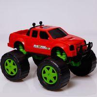 Camionete Rattam Off 4x4 Usual Plastic Vermelho Escuro Vermelho Escuro