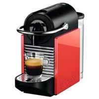 Cafeteira Nespresso Pixie Clips White and Coral Neon d60br