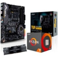 Kit Upgrade AMD Ryzen™ 7 3800X + Asus TUF GAMING X570 PLUS/BR + Memória 8GB DDR4