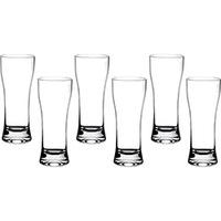 Copo Cerveja Cristal Blumenau 6 Peças Liso Extra 200ml Branco