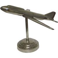 Avião Jato Oldway Pedestal Prata