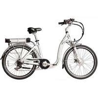 Bicicleta Elétrica Blitz Eletron 6V Aro 26 Prata