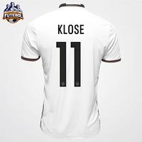 Camisa Adidas Seleção Alemanha Home 2016 Klose Masculino  95e9c34e5a9d7