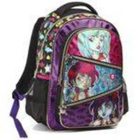 Mochila Feminina Infantil Monster High Costas 16