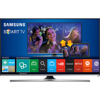 Smart TV LED 40 Samsung Full HD Wi-fi Preta e Prata Un40j5500agxzd
