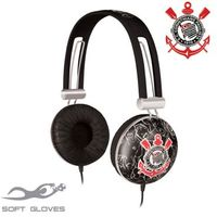 Fone de Ouvido Headphone Waldman Soft Gloves SG-10 Corinthians