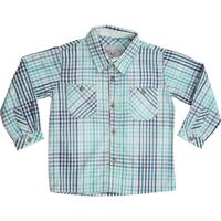 Camisa Joy Xadrez ML infantil