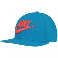 4e6c738e7e7d3 Boné Nike Fut True Snapback 2 Adulto Azul Claro e Laranja Escuro ...
