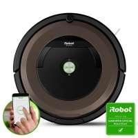 Robô Aspirador de Pó Inteligente iRobot Roomba 890 Preto e Marrom