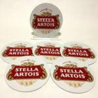 Conjunto com 6 Porta Copos Redondos Stella Artois