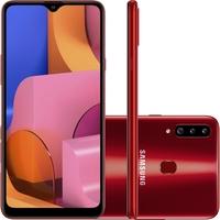 Smartphone Samsung Galaxy A20s SM-A207M Desbloqueado 32GB Android 9.0 Vermelho