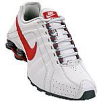 21e05be6480 Tenis Nike Shox Junior 454340-012 Cinza e Vermelho