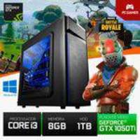 PC Gamer i3 1TB 8GB RAM GTX 1050 Ti 4GB 128 Bits YessTech Power